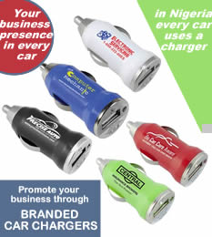 promotional car charger dealers in Nigeria