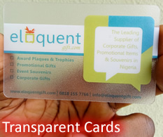 transparent pvc card printers in lagos nigeria