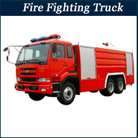 fire vehicles in Lagos, Nigeria