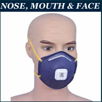 nose face mask in Lagos, Nigeria