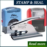 stamp and seal  costs in nigeria