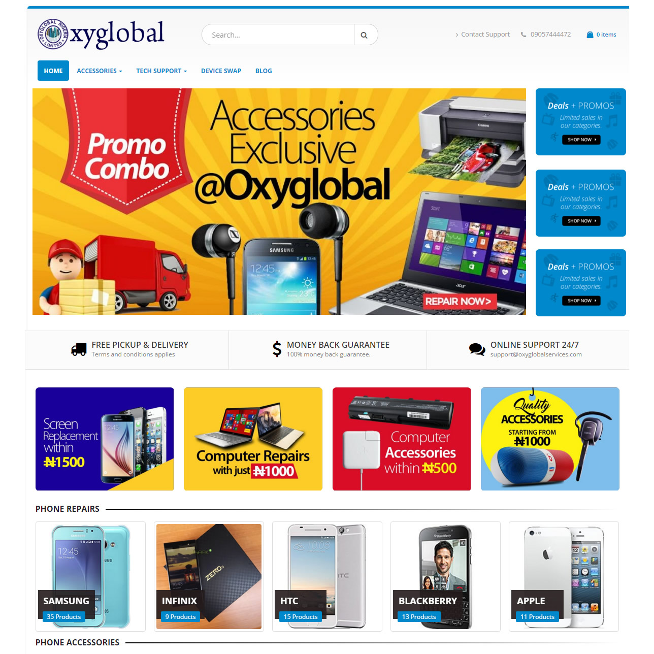 professional website design company in Nigeria