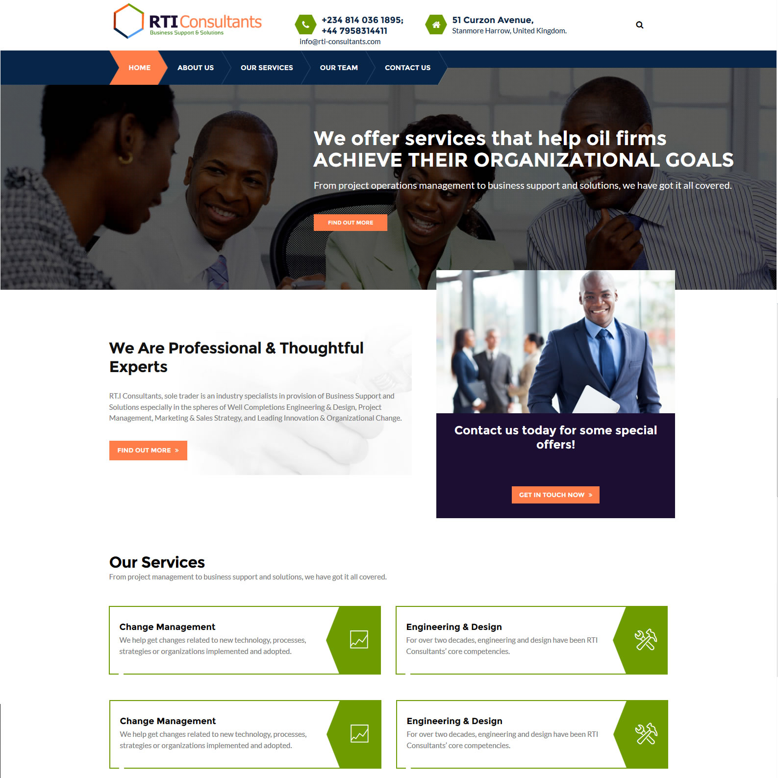 consultant web design agency in lagos