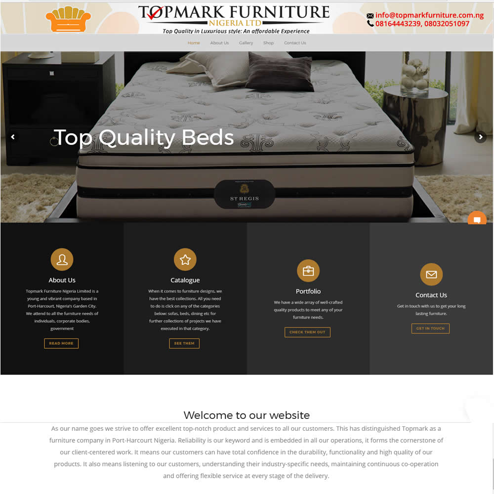 Web design company in Ikeja